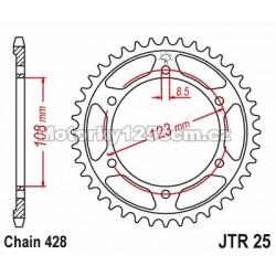 Řetězová rozeta JT -...