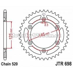 Řetězová rozeta JT - Cagiva...