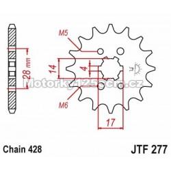 Řetězové kolečko JT -...
